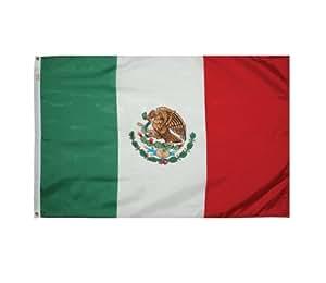 Valley Forge 旗帜 91.44 cm x 1.52 m 尼龙墨西哥国旗 5' x 8' 35233940