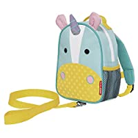 Zoo-let Mini Backpack With Rein - Unicorn
