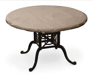 """KOVERROOS III 灰褐色圆形餐桌套 48"""" Diameter 棕色 31550"""