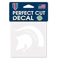 WinCraft NCAA 密歇根州立大学斯巴达人 10.16 厘米 x 10.16 厘米白色贴花贴纸