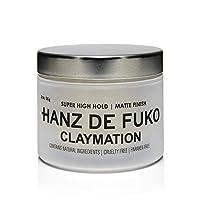 Hanz de Fuko 高級男士發型粘土:高性能發型粘土啞光飾面 (56g/53.33ml)