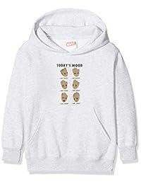 Marvel 女孩银河护卫队 Vol 2 Groot Today's Mood T 恤 - 衬衫,灰色(运动灰色),9-10 岁(尺码:9-11 岁)