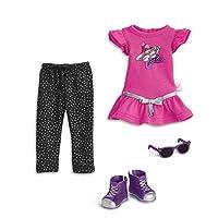 American Girl Welliewishers 摇滚明星服装娃娃服装