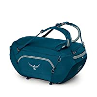 Osprey 中性 追踪者 BigKit Duffel 75 蓝色 均码 双肩背包 旅行手提运动收纳包驮包(两种LOGO随机发)【旅行系列】