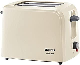 Siemens 西門子 TT3A0103 小型烤面包機 300 系列 奶油色 31 x 16 x 19 TT3A0107