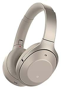 Sony 索尼 WH-1000XM2 Hi-Res无线蓝牙耳机 智能降噪耳机 头戴式 1000x二代 香槟金