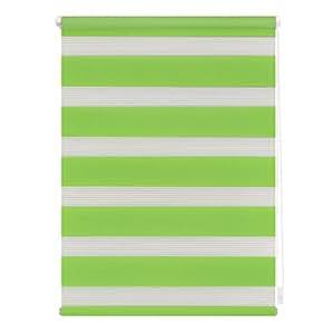 DUO 滚筒百叶窗带夹子支架,各种尺寸,绿色