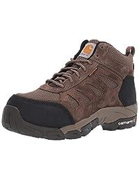 Carhartt 女式轻质 Wtrprf 中高工作远足碳纤维纳米*鞋头 Cwh4420 工业靴