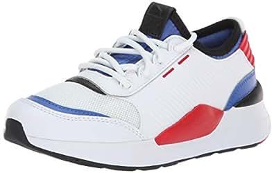 PUMA 儿童 Rs-0 808 Ps 运动鞋 White-dazzling Blue- White 11 Little Kid