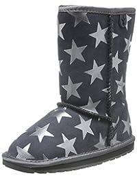 EMU Australia All Littles 中性童 Starry Night 雪地靴 K11119CHAR (亚马逊进口直采,澳大利亚品牌)