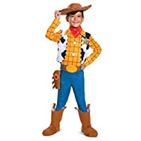 "Disguise - Toy Story 4:Woody 豪華兒童服裝 Little Kid S (4-6) ""Multi"""