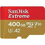 SanDisk Extreme 400 GB 微型 SDXC 存储卡 + SD 适配器