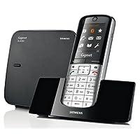Gigaset SL 手机, 无绳电话/移动电源, 彩色显示屏, DECT - 手机, 无绳电话, 免提 schwarz/pianoschwarz SL350A