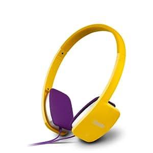 Edifier 漫步者 K680 时尚便携耳机 电脑耳机 电脑耳麦 活力黄