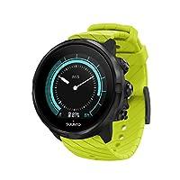 SUUNTO 頌拓 9 中性Multisport GPS手表,25小時電池壽命,防水深度100米,手腕心率監測器,彩色顯示屏,礦物玻璃,SS050142000