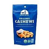 Mavuno Harvest 直接贸易优质全腰果,海盐干烤,4盎司(112克),6件装
