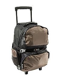 Everest Xtreme 拉杆包带内置收纳背包