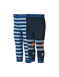 Sterntaler 男宝宝打底裤 Dp 环/永恒拉绳,Bleu (Blau 355),86 打底裤,蓝色,均码