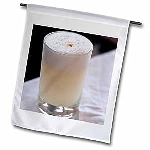 danita delimont–cocktails–秘鲁, lima . Pisco 鸡尾*–SA 17mde0043–MICHAEL defreitas–旗帜 12 x 18 inch Garden Flag