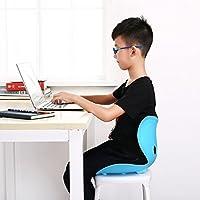Rumiday 坐姿椅 儿童矫姿坐椅坐姿保护脊椎 防驼背护腰 收纳凳子 37*32*28 (蓝色)