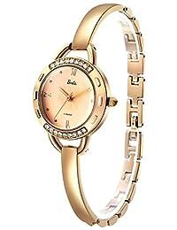 Barbie 芭比 美国品牌 公主系列 石英女士手表 创意简约手镯闪钻表 B508PTAI45L(供应商直送)