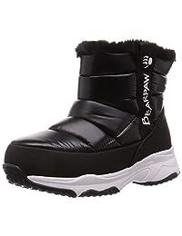 JUNIPER 雪地靴 儿童 青少年 冬季靴 防水 拉链 长毛绒 防寒 鞋 鞋子