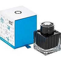 Montblanc 萬寶龍 116223 墨水盒 105190 高品質瓶裝墨水,50 毫升,UNICEF 藍色