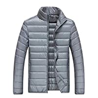 GTU 90% 绒 冬季户外羽绒服男女款轻薄立领短款情侣外套保暖羽绒衣外套 LH-823665-132396