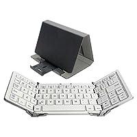 Owltech Bluetooth 折叠式键盘 英语排列64键 1年保修OWL-BTKB6401-WHSIAMZ 64キー 银色