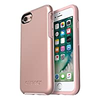 OtterBox SYMMETRY SERIES Case for iPhone 8 & iPhone 7 (NOT Plus) ROSE GOLD (PALE PINK/ROSE GOLD GRAPHIC)