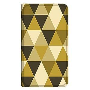 智能手机壳 手册式 对应全部机型 薄型印刷手册 cw-120top 套 手册 几何学图案 超薄 轻量 UV印刷 壳WN-PR199208-L Huawei GR5 KII-L22 图案G