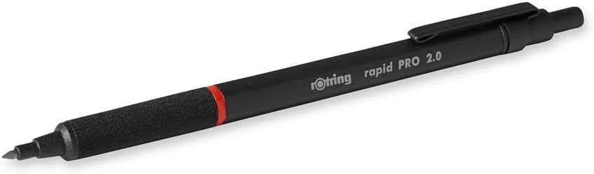 rOtring Rapid PRO 自動鉛筆 2.0 mm 啞光黑色