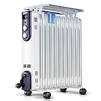 Singfun 先锋 取暖器 11片家用电热油汀电暖气片 电暖器加热器 DS9411(亚马逊自营商品, 由供应商配送)