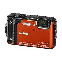 尼康 Nikon COOLPIX W300s 防水、防震(耐冲击)、防寒、防尘 数码相机 官方标配 橙色