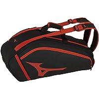美津浓(MIZUNO) 硬式・软网球/羽毛球拍包(6只装) 63JD9008 96:黑色×红色