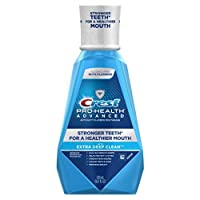 Crest Pro-Health Advanced Mouthwash with Extra Deep Clean, Fresh Mint 16.90 oz 2片装 2.00