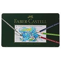 Faber-Castel FC117536 Albrecht Durer 艺术家水彩铅笔,金属锡(36 个装),各色