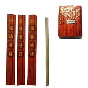 一次性筷子 竹子色 150pair 3776