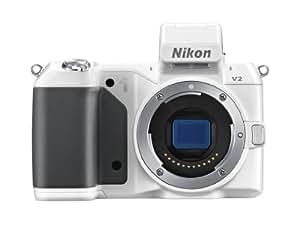 Nikon 尼康 1 V2 可换镜数码相机机身 (白色)