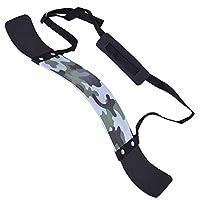 Z-Fintess 手臂玩具枪适用于三头肌和二头肌杠铃和哑铃卷曲肌肉塑造器上臂分离器适用于大臂*和举重力量和肌肉增高