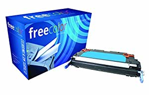 Freecolor 1659B002AA 适用于佳能 i-Sensys LBP 5300/5360,优质碳粉,重新加工 6000 页,5% 覆盖率,青色色