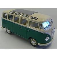 Kinsmart 1/24 比例压铸 1962 大众经典巴士,*,带白色顶端
