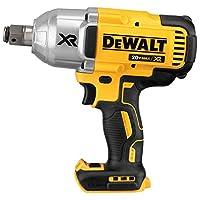 DEWALT DCF897B 20v MAX XR 高扭矩 1.27cm 冲击扳手 带雾环固定销 Anvil (仅含高尔夫球)