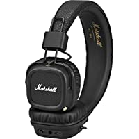 Marshall 马歇尔 Major II蓝牙耳机 黑色(4091378)