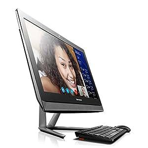Lenovo 联想 C5030 23英寸台式一体机电脑 (intel酷睿i3-4010U双核处理器 1.7GHz 4G内存 DDR3 1T硬盘 7200转 GF820 2G独显 DVD 802.11n无线网卡 USB键鼠套装 主要部件两年保修及一年上门服务 Win8 黑色)