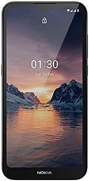 诺基亚 1.3 全解锁智能手机 5.7英寸 HD / 屏幕,AI-Powered 8 MP 摄像头和 Android 10 Go 版,青色,2020(AT&T/T-Mobile/ricket/Tracfone/S