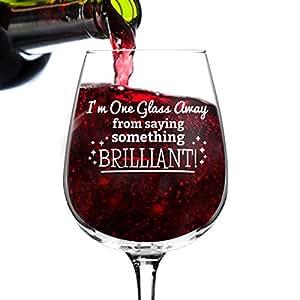 Funny Wines Glass 3 绚丽 SMTHNG BRLLNT