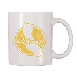 4 All Times 加州咖啡杯 白色 11 oz Mug-1739