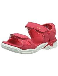 ECCO 女童 Biom Raft 露趾涼鞋