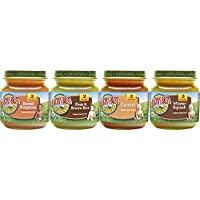 Earth's Best Organic Stage 2, Very Veggie Variety Pack, 4 Ounce Jar,12 Count